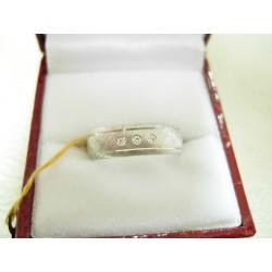 Złote ekskluzywne obrączki diamentowane z brylantami id: 744