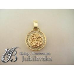 Złoty wisior Grecki Wzór id: 85