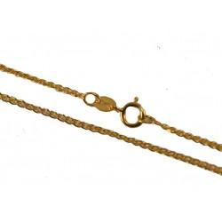 Złoty Łańcuszek pełny lisi ogon w próbie 585! id: 900