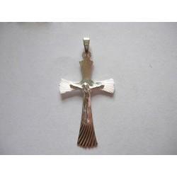 Wspaniały Srebrny Krzyżyk w próbie 925 id: 1062