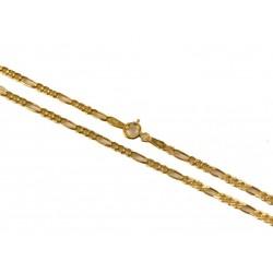 Złoty Łańcuszek pełny figaro w próbie 585! id: 1153