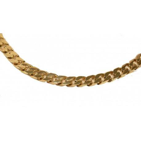 WSPANIAŁY Złoty Łańcuch PANCERKA! Bardzo duża! id: 1357