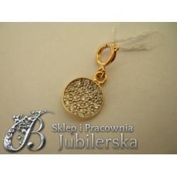 CUDOWNY Złoty Wisiorek CHARMS 0.585! Promocja! id: 1418