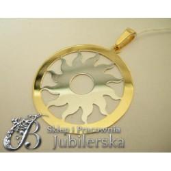 CUDOWNY Złoty Wisiorek KWIAT 0.585! Promocja! id: 1423