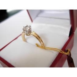 Złoty pierścionek LOVE id: 152