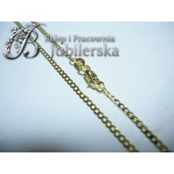 Złoty Łańcuszek pełna Pancerka w próbie 585! id: 1540