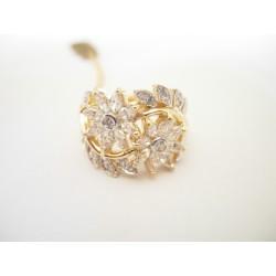 Złoty pierścionek z cyrkoniami id: 170