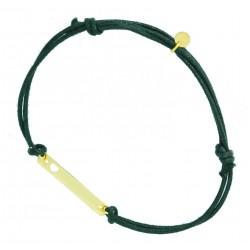 Bransoletka złota sznurek serce w próbie 585 id: 1775
