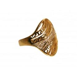 Pierścionek z greckim wzorem i cyrkoniami id: 1787