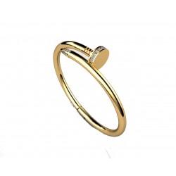 Złota bransoletka gwoźdź z brylantami w próbie 585 id: 1794