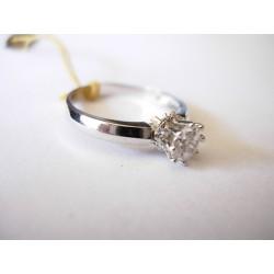 Złoty pierścionek z cyrkoniami id: 210