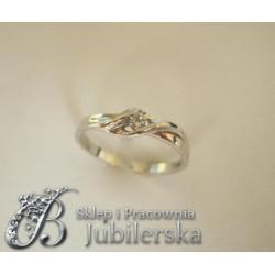 Wspaniały złoty pierścionek w próbie 585! id: 232