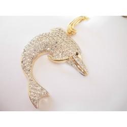 Złoty wisior DELFIN id: 268