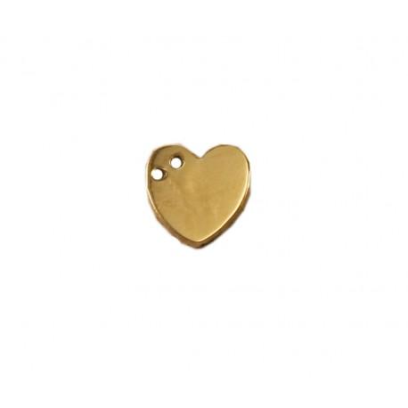 Złoty wisiorek serce do celebrytki w próbie 585!! id: 460