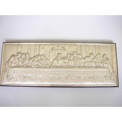 Srebrny obrazek prezent na chrzest,komunie. id: 491